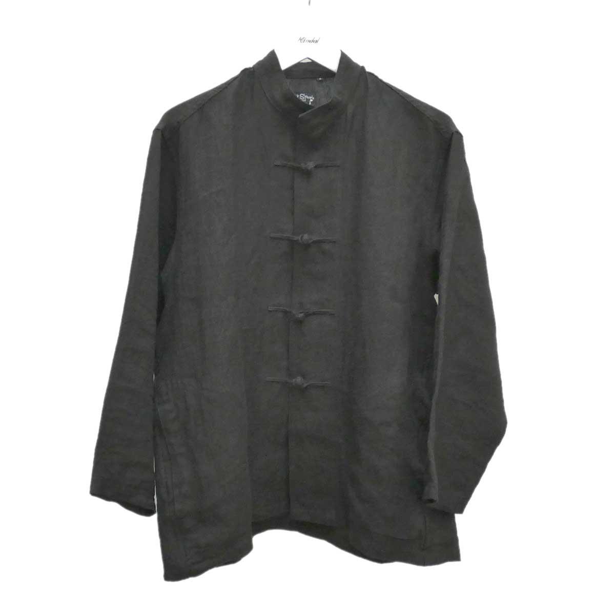 【中古】or Slow カンフージャケット KUNG FU JACKET ブラック サイズ:0 【290820】(オアスロウ)