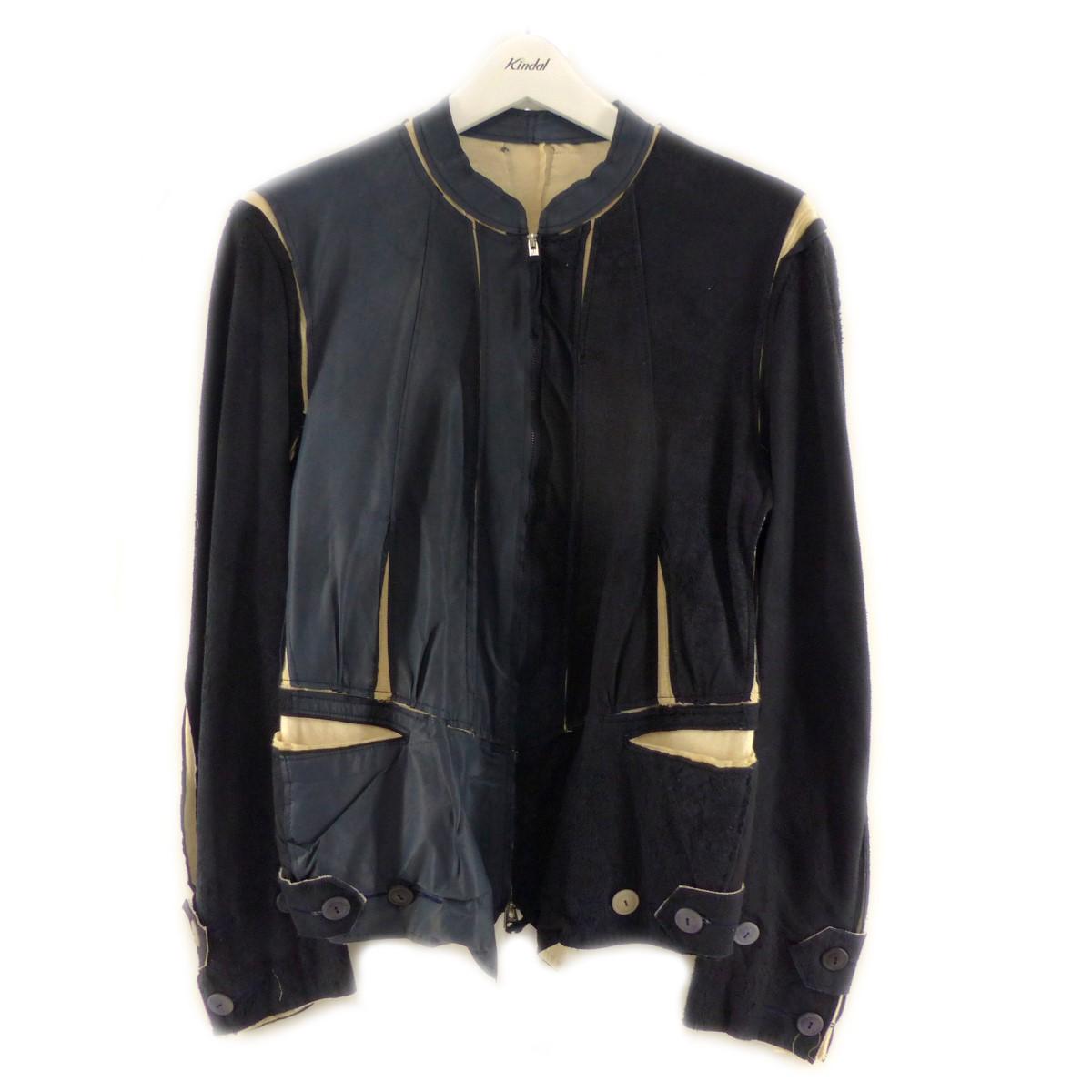 【中古】TAKAHIROMIYASHITA TheSoloIst. Nobled Zip up jacket ネイビー サイズ:XS 【290820】(タカヒロミヤシタザソロイスト)