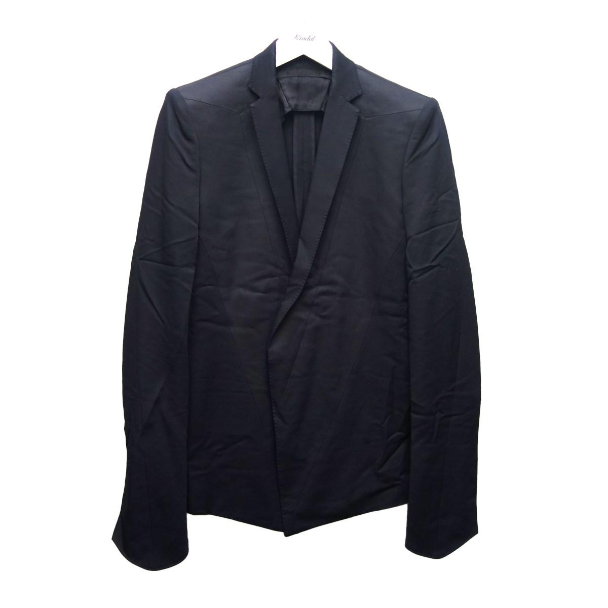 【中古】JULIUS 15SS テーラードジャケット ブラック サイズ:1 【290820】(ユリウス)
