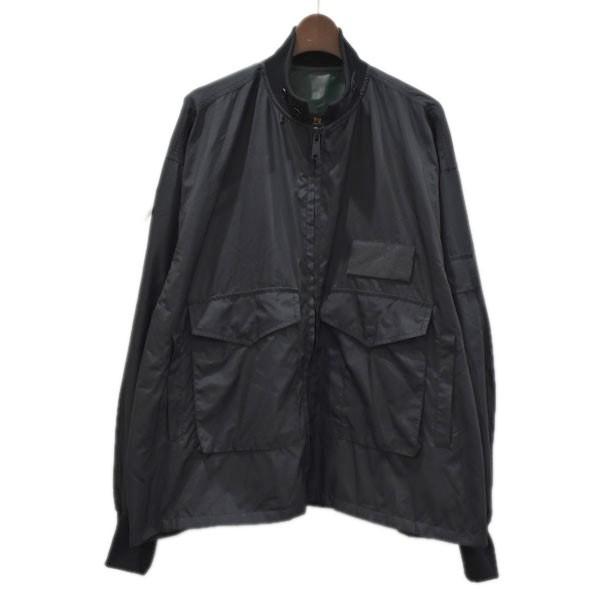 【中古】FLAGSTUFF ×AIR WALK ナイロンジャケット ブラック サイズ:M 【300820】(フラッグスタッフ)