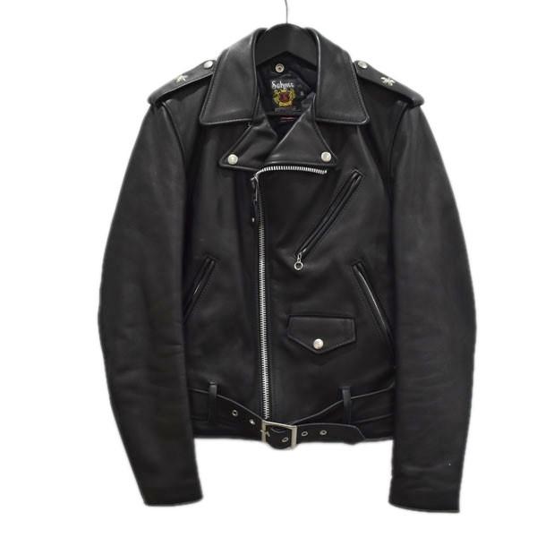 【中古】SCHOTT ONESTAR DOUBLE RIDERS ライダースジャケット ブラック サイズ:36 【300820】(ショット)