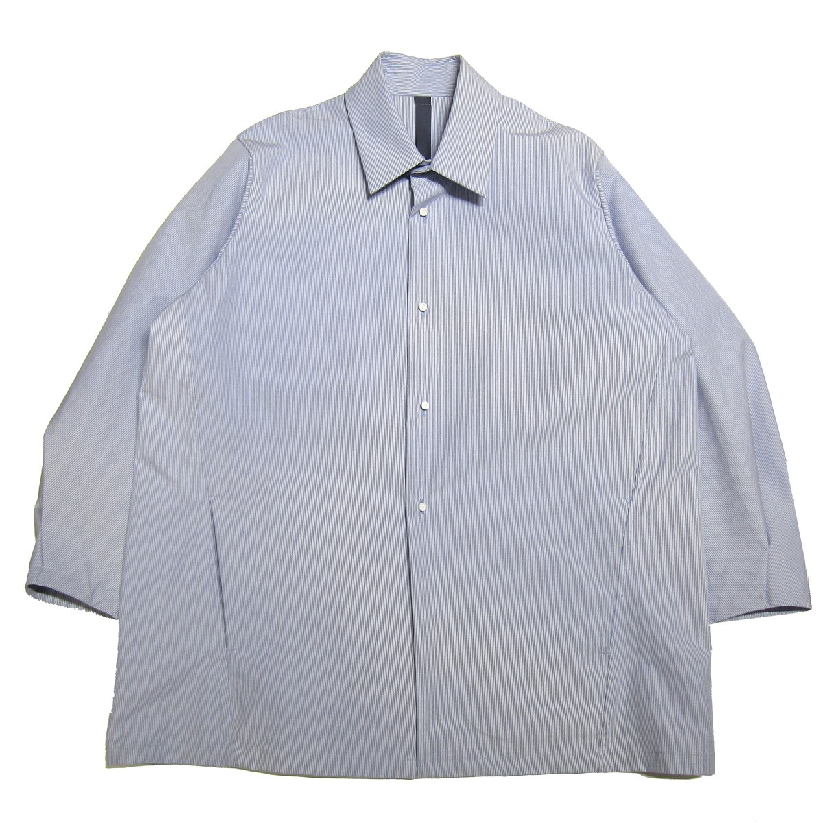 【中古】SHINYA KOZUKA 2020SS shirtish jacket/シャツジャケット ブルー サイズ:S 【290820】(シンヤ コズカ)