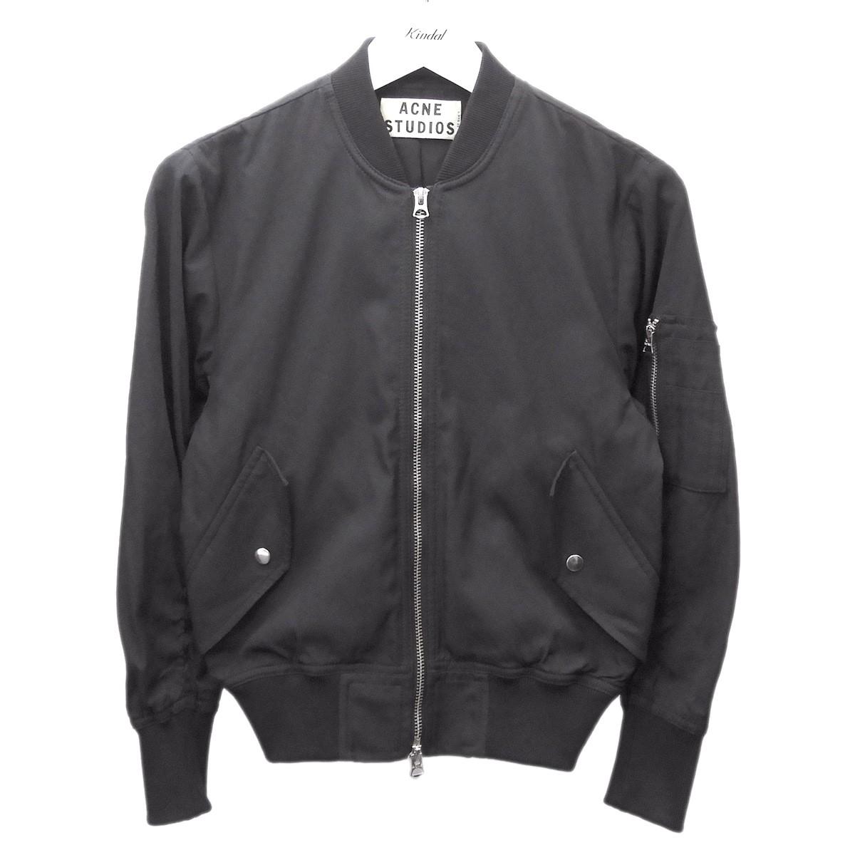 【中古】ACNE STUDIOS 2013AW 「ENCORE」MA-1ジャケット ブラック サイズ:32 【010920】(アクネストゥディオズ)