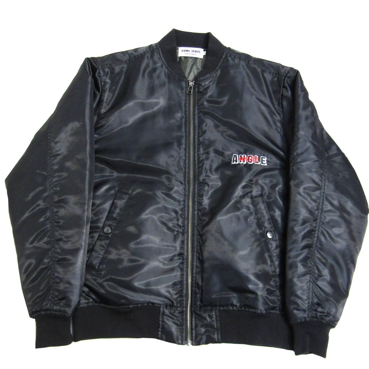 【中古】COME SENSE ANGLE angle 270 エンジェル MA-1 ジャケット ブラック サイズ:M 【010920】(カム センス)
