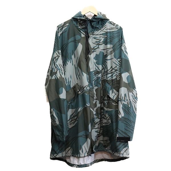 【中古】N.HOOLYWOOD×WILD THINGS 16SS カモフラパーカージャケット グレー サイズ:40 【010920】(エヌハリウッド ワイルドシングス)