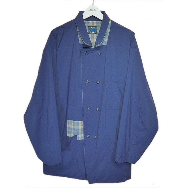 【中古】gourmet jeans 「Reversible Jacket New Model」リバーシブルジャケット ネイビー サイズ:Free 【020920】(グルメジーンズ)
