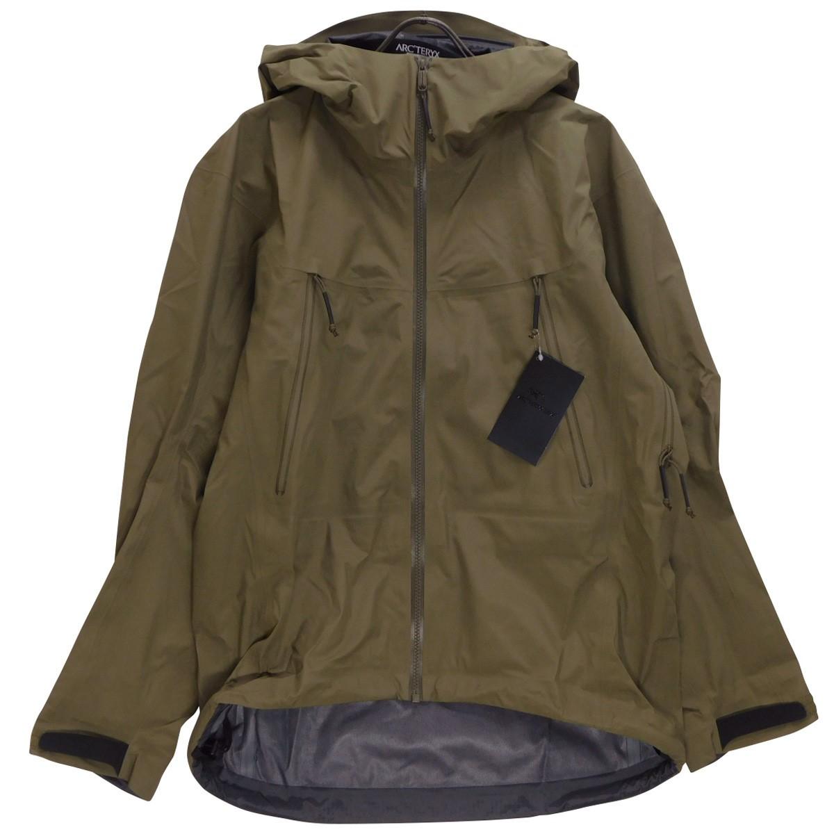 【中古】ARCTERYX LEAF Alpha Jacket LT GEN2 アルファLTジャケット 18864 CROCODILE サイズ:S 【060920】(アークテリクス)