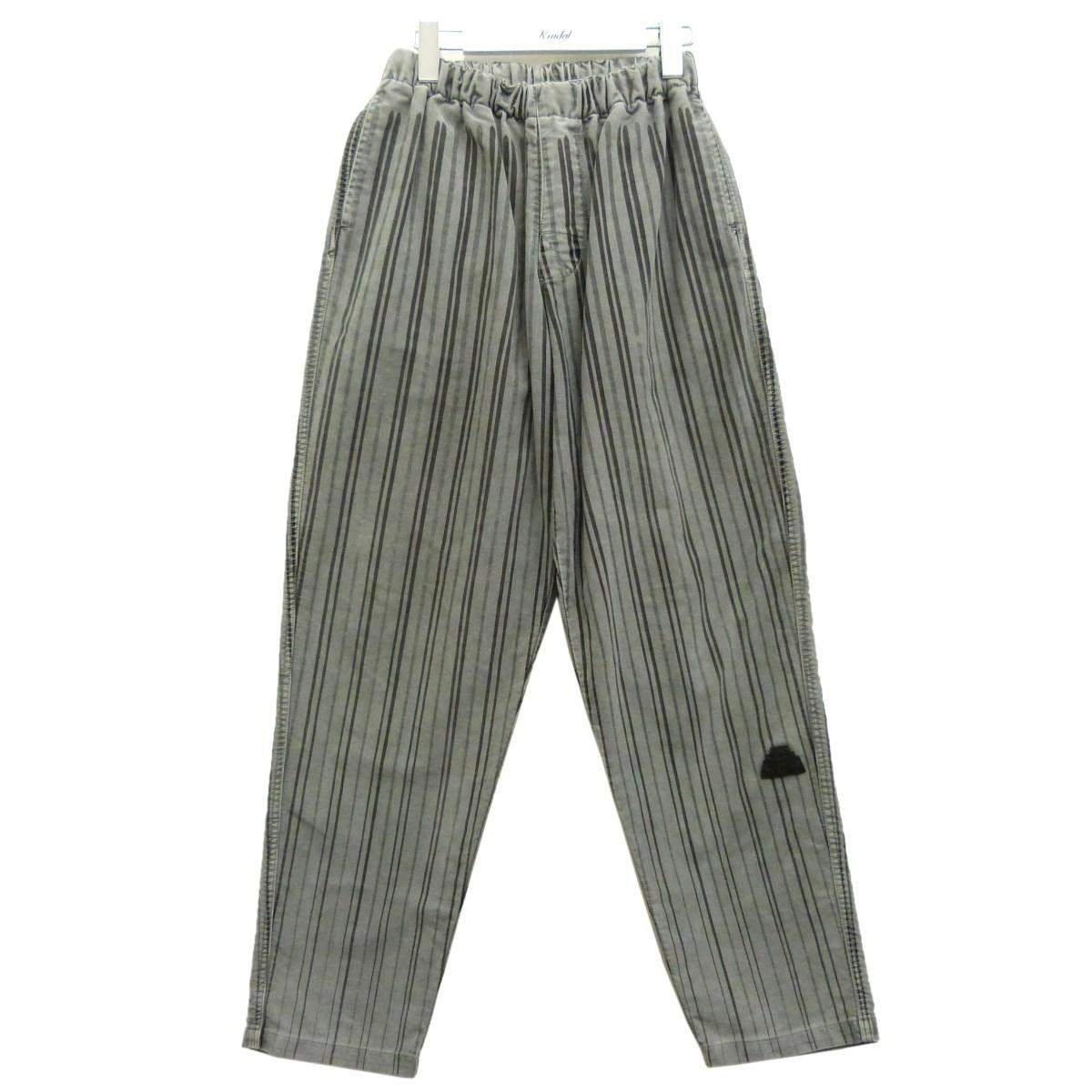【中古】C.E 「Stripe Beach Pants」イージーストライプパンツ グレー サイズ:S 【090920】(シーイー)