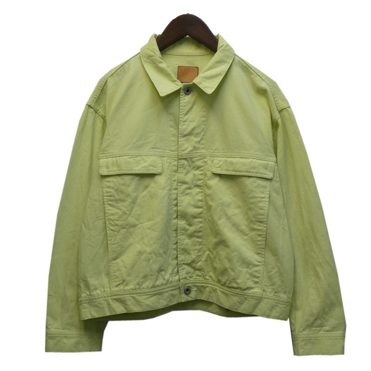 【中古】tone 19SS トラッカージャケット ライム サイズ:2 【100920】(トーン)