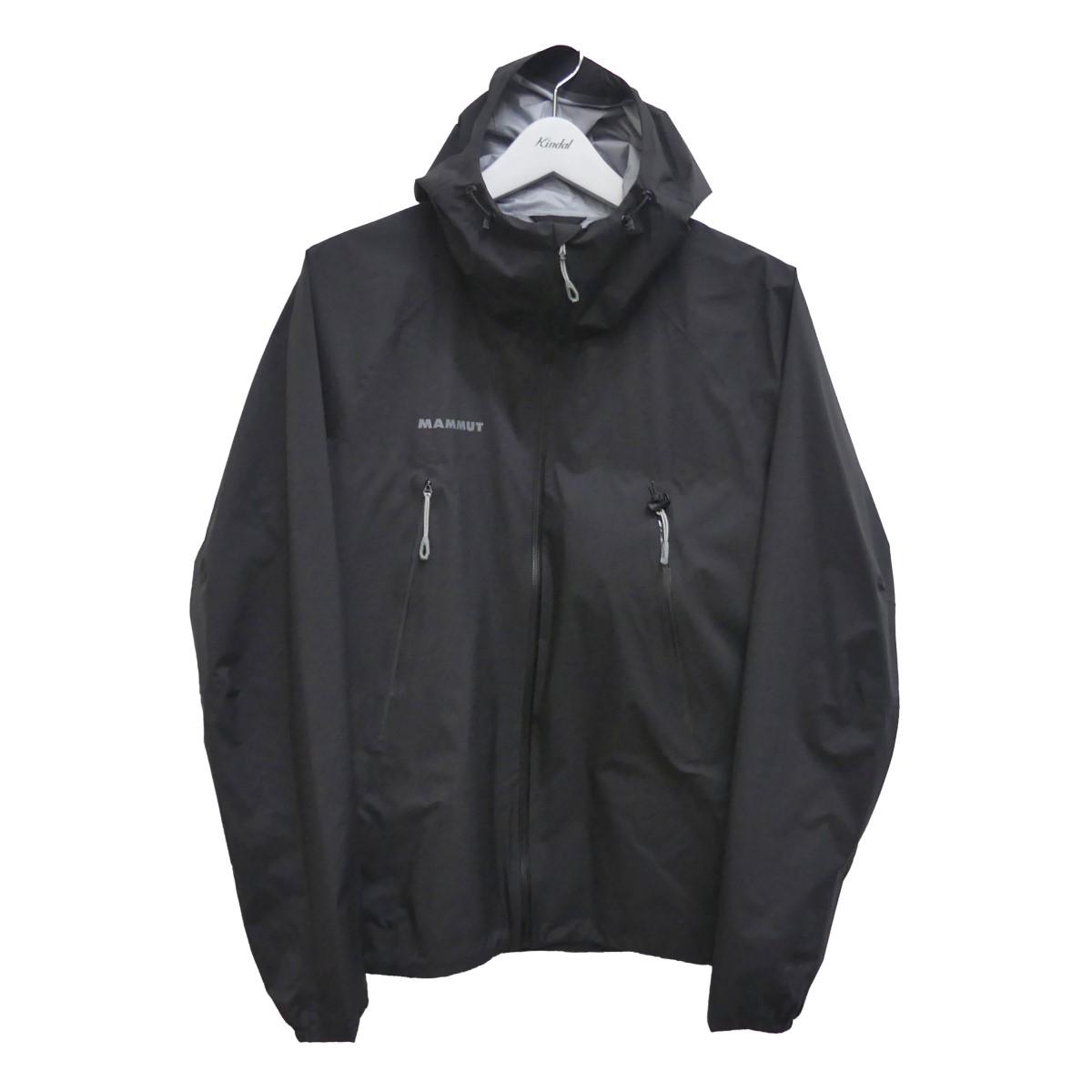 【中古】MAMMUT Masao Light HS Hooded Jacket AF ナイロンジャケット ブラック サイズ:L 【110920】(マムート)