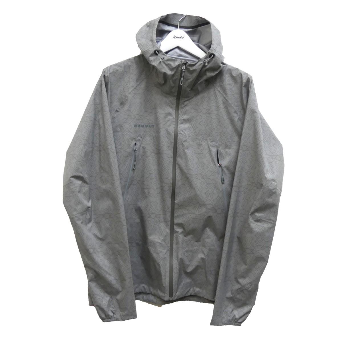 【中古】MAMMUT Masao Light HS Hooded Jacket AF ナイロンジャケット グレー サイズ:L 【110920】(マムート)
