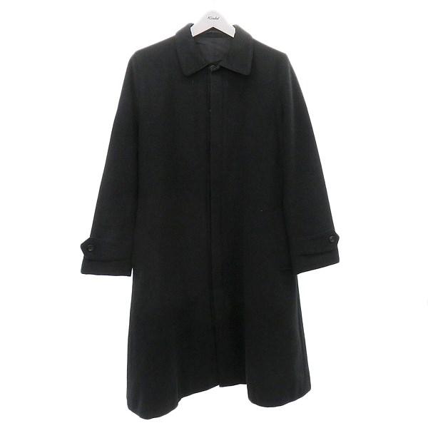 【中古】Ys カシミヤ混ウールコート ブラック サイズ:3 【110920】(ワイズ)