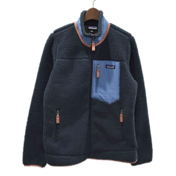 【中古】patagonia 19AW クラシックレトロX フリースジャケット ネイビー サイズ:M 【160920】(パタゴニア)