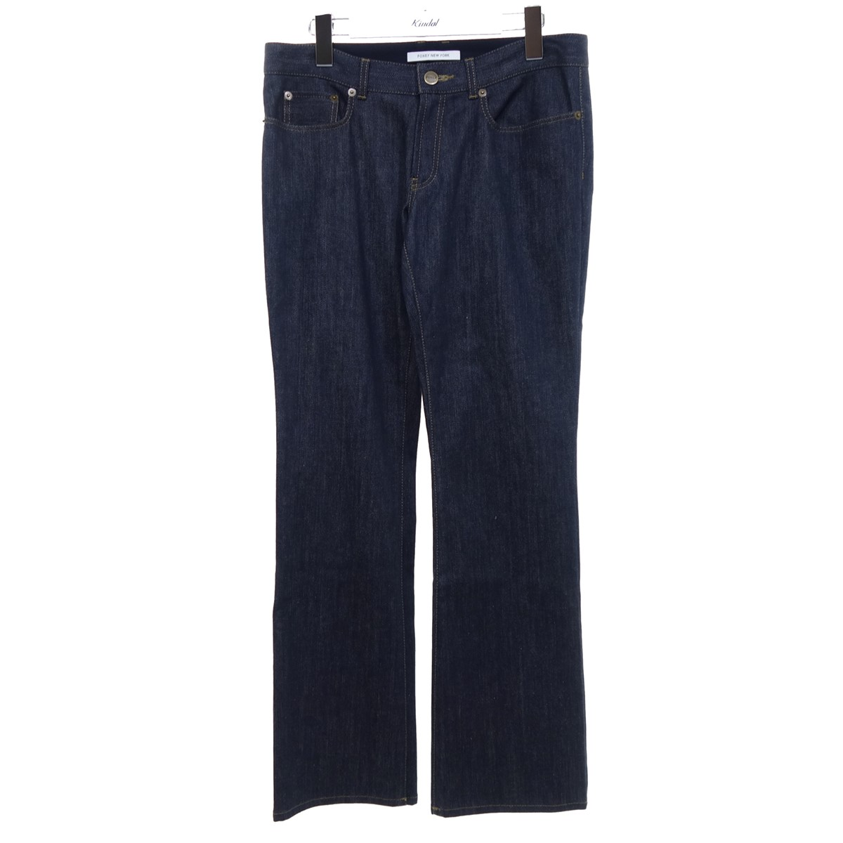 FOXEY NEWYORK デニムパンツ 35807 インディゴ サイズ:40 【160920】(フォクシーニューヨーク):ブランド古着のカインドオル