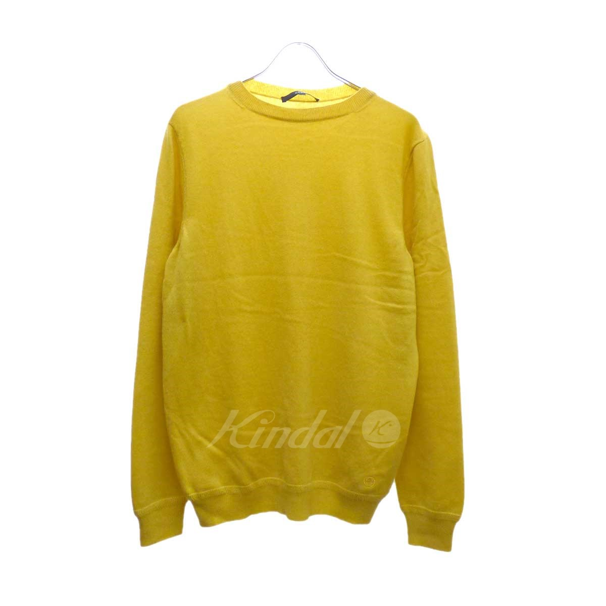 【中古】GUCCI カシミヤセーター イエロー サイズ:XL 【160920】(グッチ)
