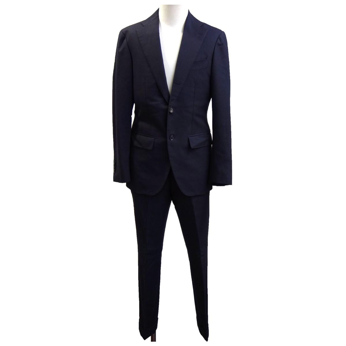 【中古】Brilla per il gusto セットアップスーツ ブラック サイズ:42/42 【160920】(ブリッラ ペル イル グースト)