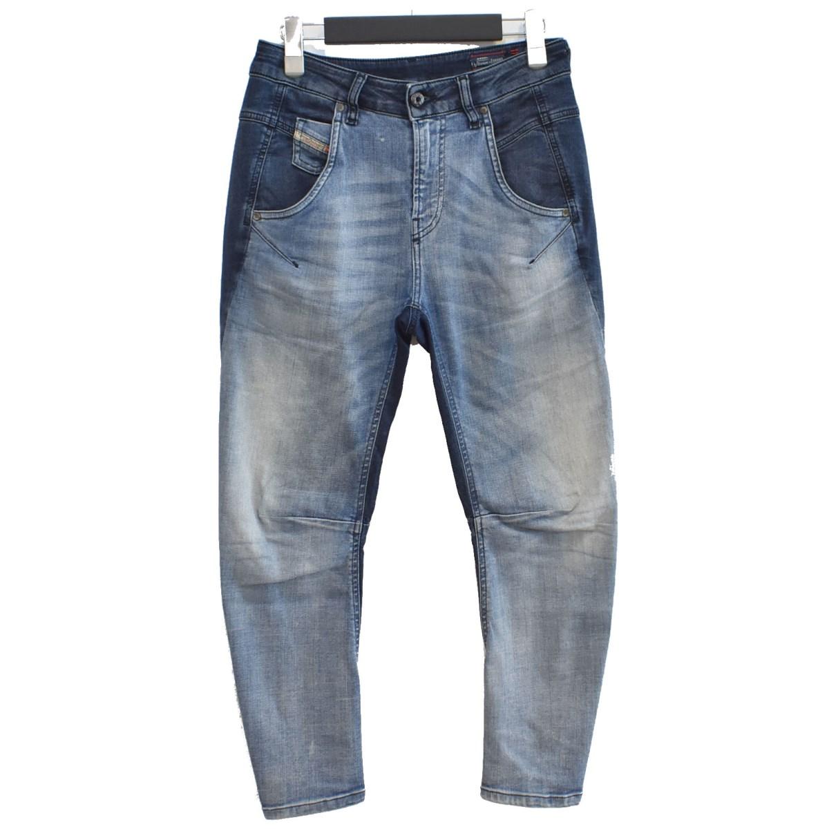 【中古】DIESEL Fayza Jogg Jeans ジョグデニム インディゴ サイズ:23 【180920】(ディーゼル)