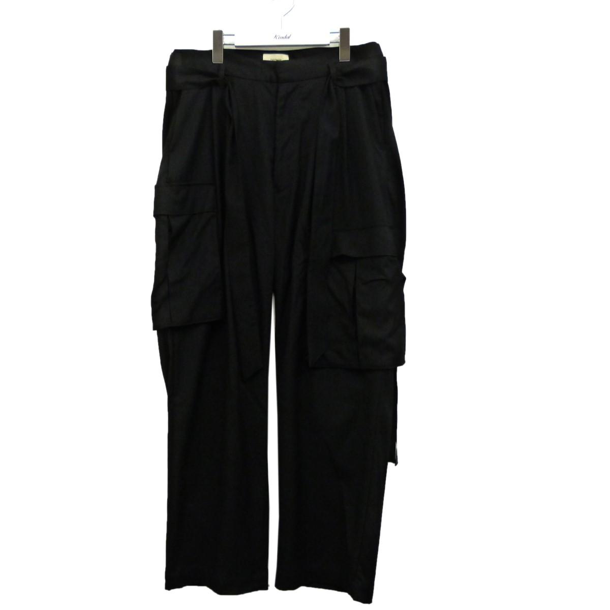 【中古】toironier カーゴパンツ ブラック サイズ:Free 【170920】(トワロニエ)