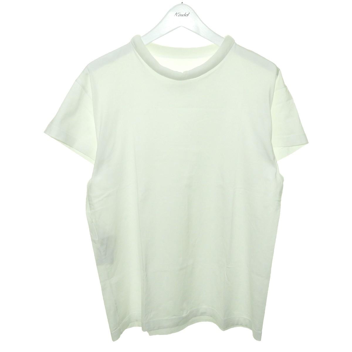 【中古】Martin Margiela1 2020SS ドロップショルダーTシャツ ホワイト サイズ:XS 【200920】(マルタンマルジェラ1)
