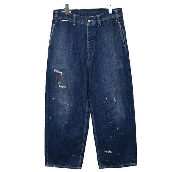 【中古】Porter Classic DENIM WORK PANTS デニム ジーンズ パンツ インディゴ サイズ:M 【190920】(ポータークラシック)