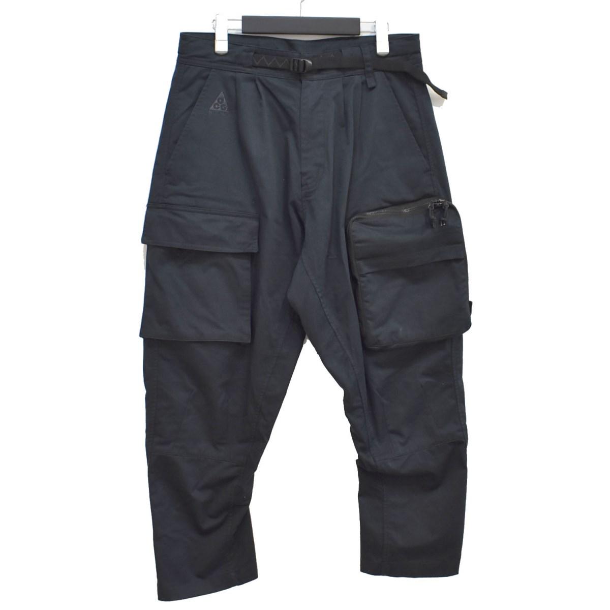 【中古】Nike ACG 19AW WOVEN CARGO PANTS ウーブンカーゴパンツ ブラック サイズ:M 【210920】(ナイキエーシージー)