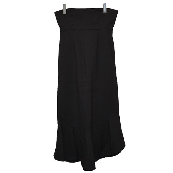 【中古】ENFOLD ハイウエストスカート ブラック サイズ:38 【210920】(エンフォルド)