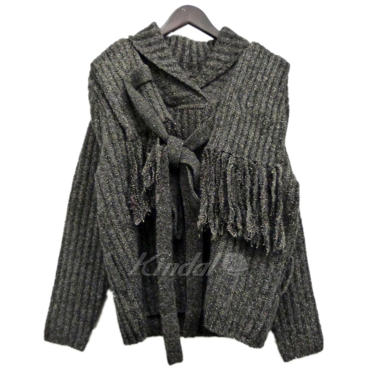 【中古】CRAIG GREEN 「Fisherman Rib Knit Jumper」フィッシャーマンニット グレー サイズ:S 【230920】(クレイググリーン)