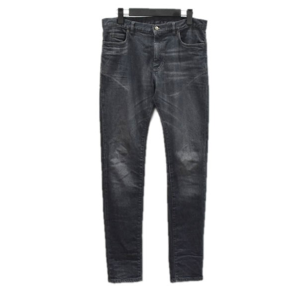 【中古】Maison Margiela 17AW スキニーデニムパンツ S50LA0095 ブラック サイズ:32 【260920】(メゾンママルジェラ)