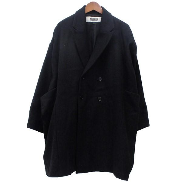 いいスタイル 【】Basisbroek ダブル ビッグコート ブラック サイズ:1 【031020】(バーシスブルック), 紀州石神邑 fc829562