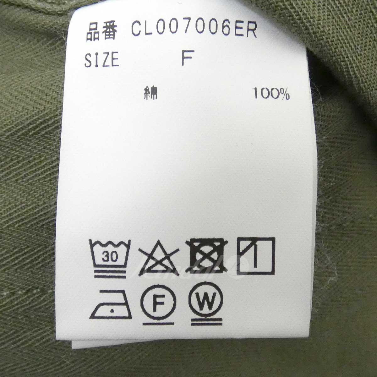 【中古】Curensologyミリタリージャケット&RCオリーブサイズ:Free【071120】(カレンソロジー)