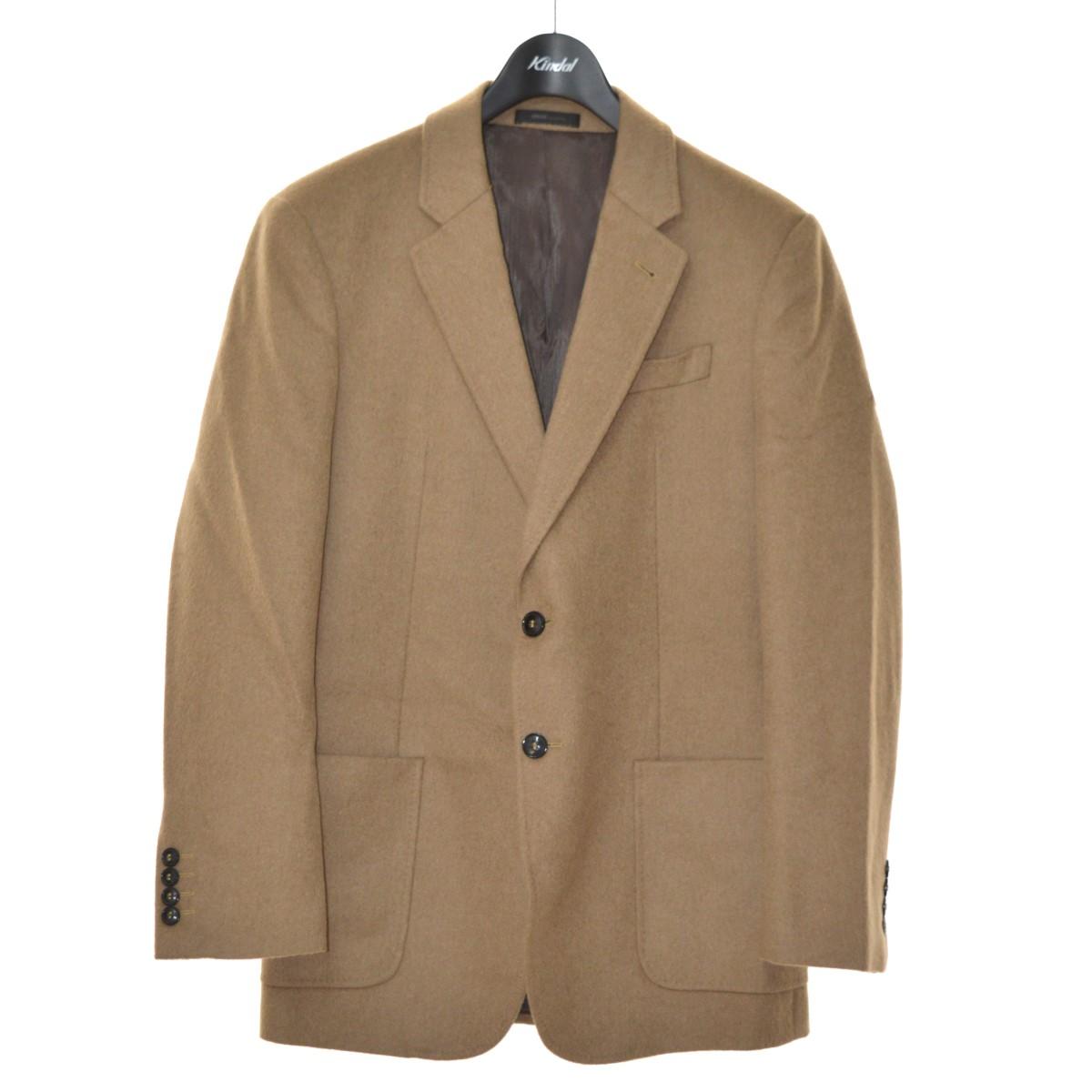 【中古】ARMANI COLLEZIONIキャメルジャケット ベージュ サイズ:46 【3月15日見直し】