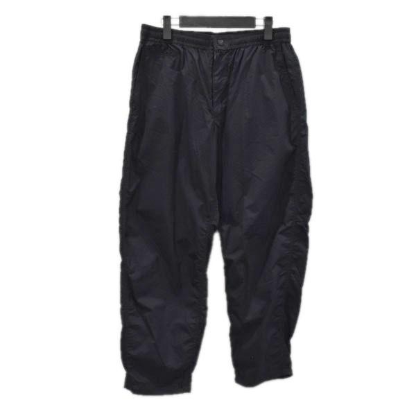Pants FACE NORTH パープルレーベル) サイズ:34 LABEL 【101120】(ザノースフェイス 【中古】THE シャーリングウエストパンツ Waist ブラック PURPLE Shirred