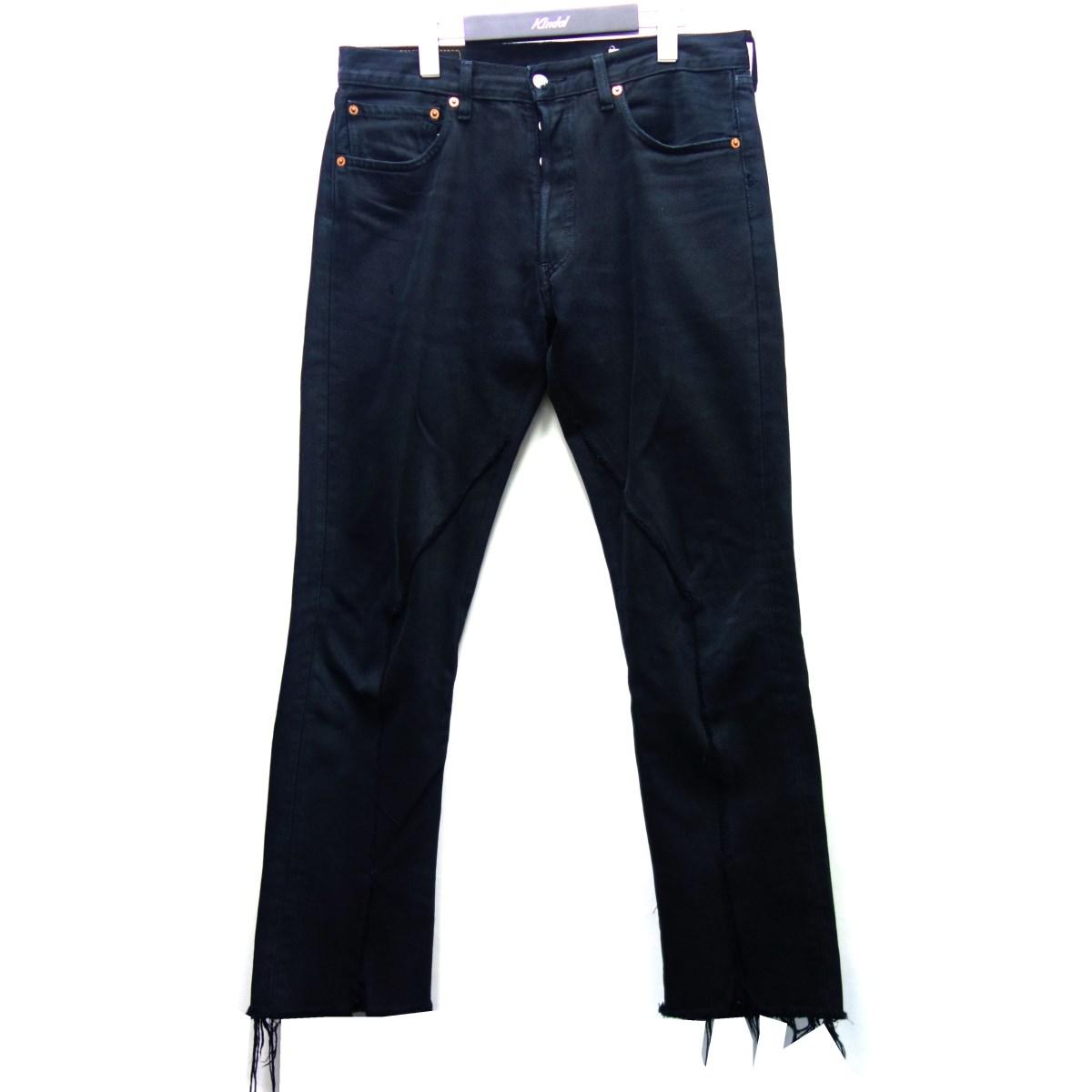 【中古】OLD サイズ:M Levis再構築デニムパンツ PARK ブラック 【141120】(オールドパーク)