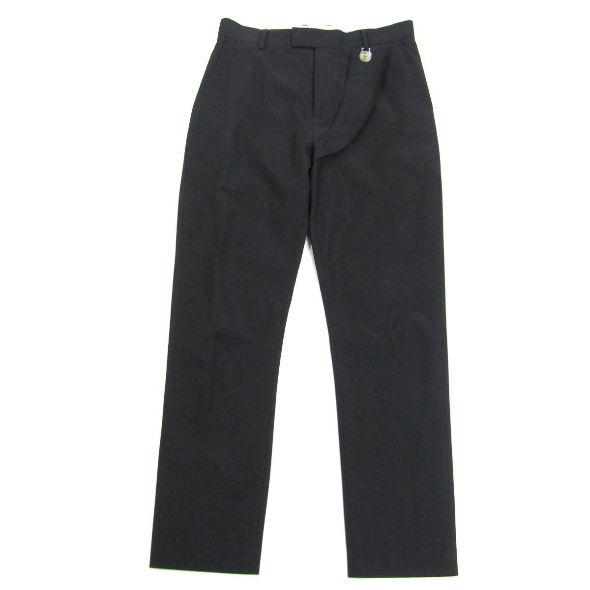Trouses ZHOU Pants サテントラウザーパンツ ブラック 【中古】XANDER Satin 2019AW サイズ:52 【151120】(ザンダーゾウ)