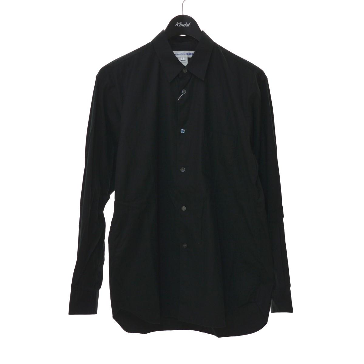 コムデギャルソンシャツ 中古 別倉庫からの配送 COMME des GARCONS SHIRT 20SS MAIDE Classic FRANCE ブラック Shirts サイズ:S 221120 IN 販売実績No.1