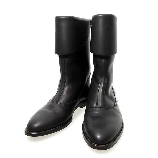 コムデギャルソン 中古 COMME des GARCONS バックジップブーツ 保障 超定番 ブラック サイズ:23cm 231120