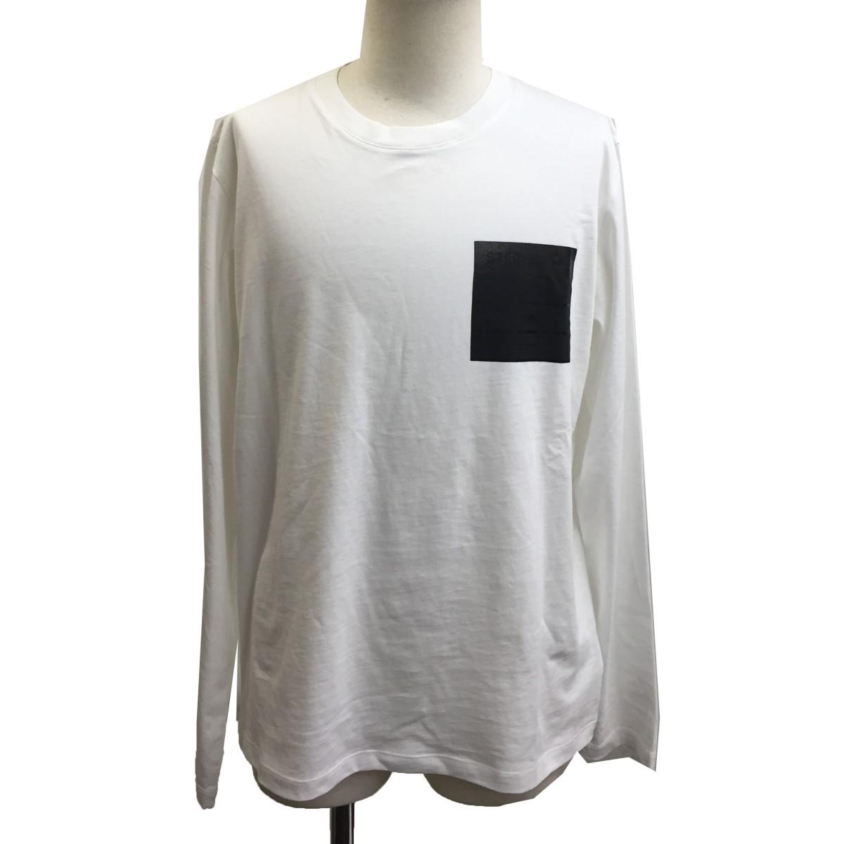 アウトレットセール 特集 マルタンマルジェラ14 お中元 中古 Martin Margiela14 ホワイト サイズ:46 20AWステレオタイプ長袖Tシャツ 281120