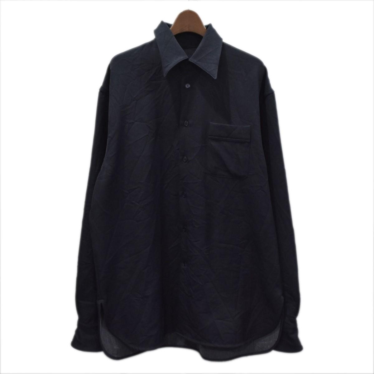 マルニ 本店 中古 MARNI 20SS 290121 ネイビー 長袖シャツ サイズ:44 現品