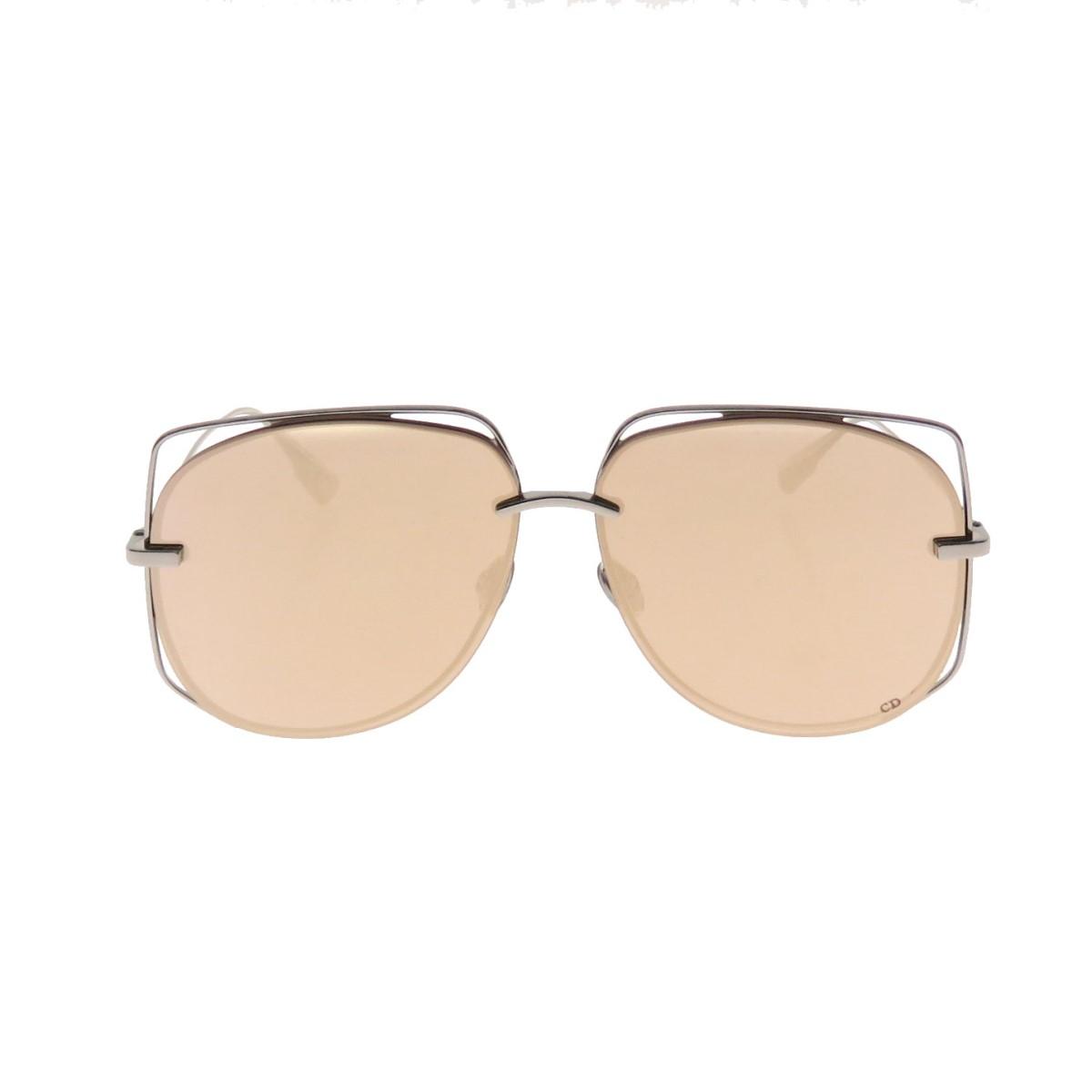 クリスチャンディオール 中古 Christian Dior STELLAIRE サングラス シルバー 期間限定送料無料 6 誕生日 お祝い 010521 サイズ:-