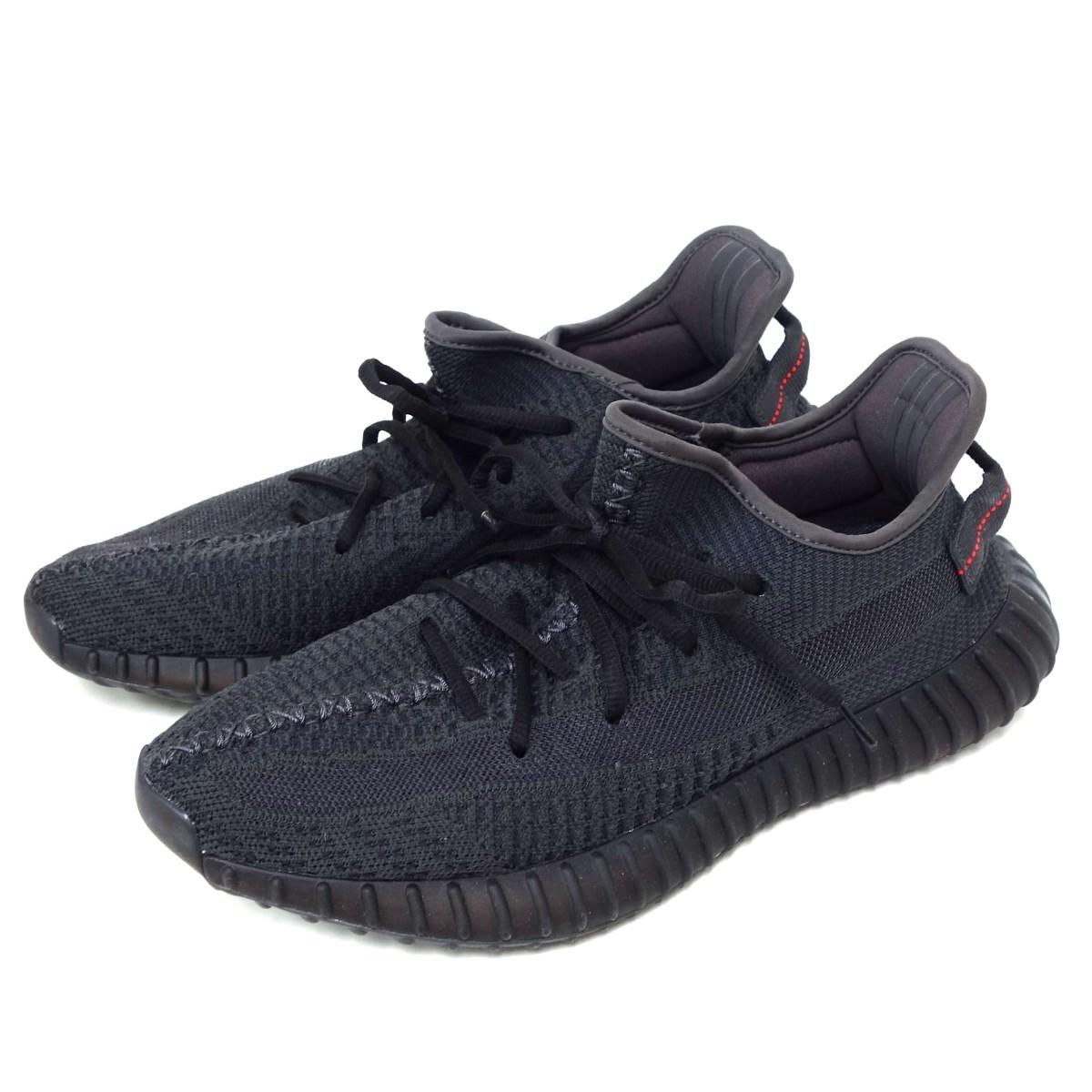 アディダスオリジナルス バイ カニエウエスト 中古 adidas originals 割引も実施中 by Kanye 毎日激安特売で 営業中です WestFU9006 BOOST ブラック サイズ:27.5cm 5月31日見直し YEEZY 350 V2 スニーカー