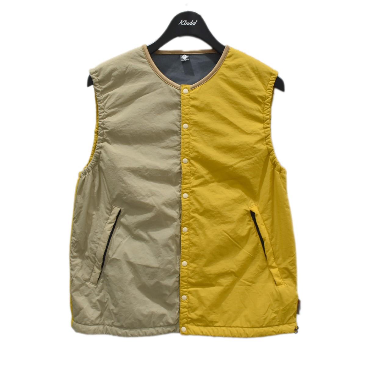 エルドレッソ ☆新作入荷☆新品 中古 買い物 ELDORESO Garushia Vest ベージュ×イエロー 310721 ガルシアベスト サイズ:S