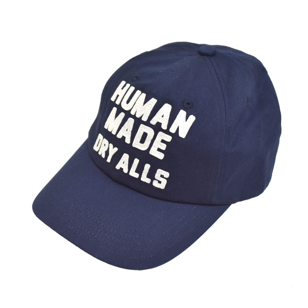ヒューマンメイド 中古 HUMAN 販売期間 限定のお得なタイムセール MADE 21SS 6PANEL TWILL 300821 売り込み キャップ ネイビー CAP