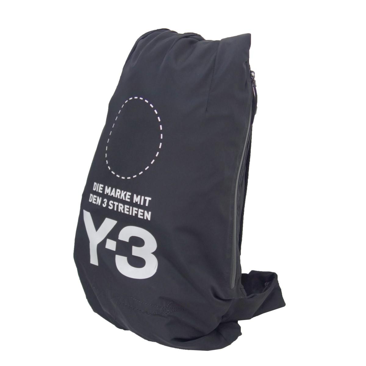 ワイスリー 中古 Y-3 Backpack 060921 ロゴバックパック 35%OFF 入荷予定 ブラック