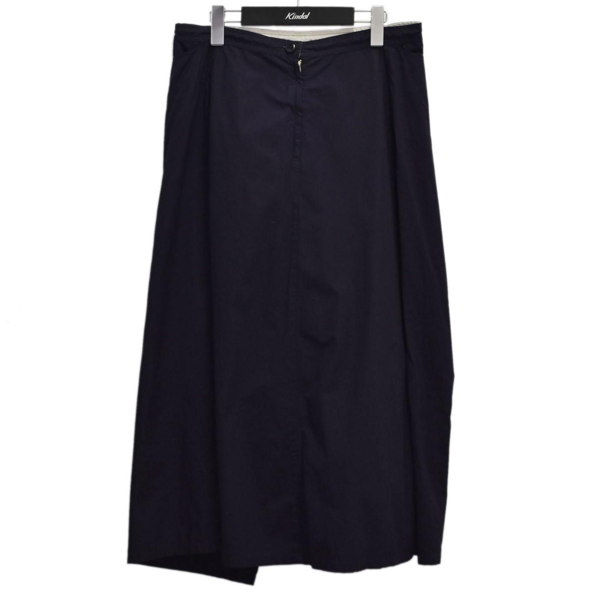 ワイズ 【中古】Y'S 20SS 変形 スカート ネイビー サイズ:2 【160921】(ワイズ)