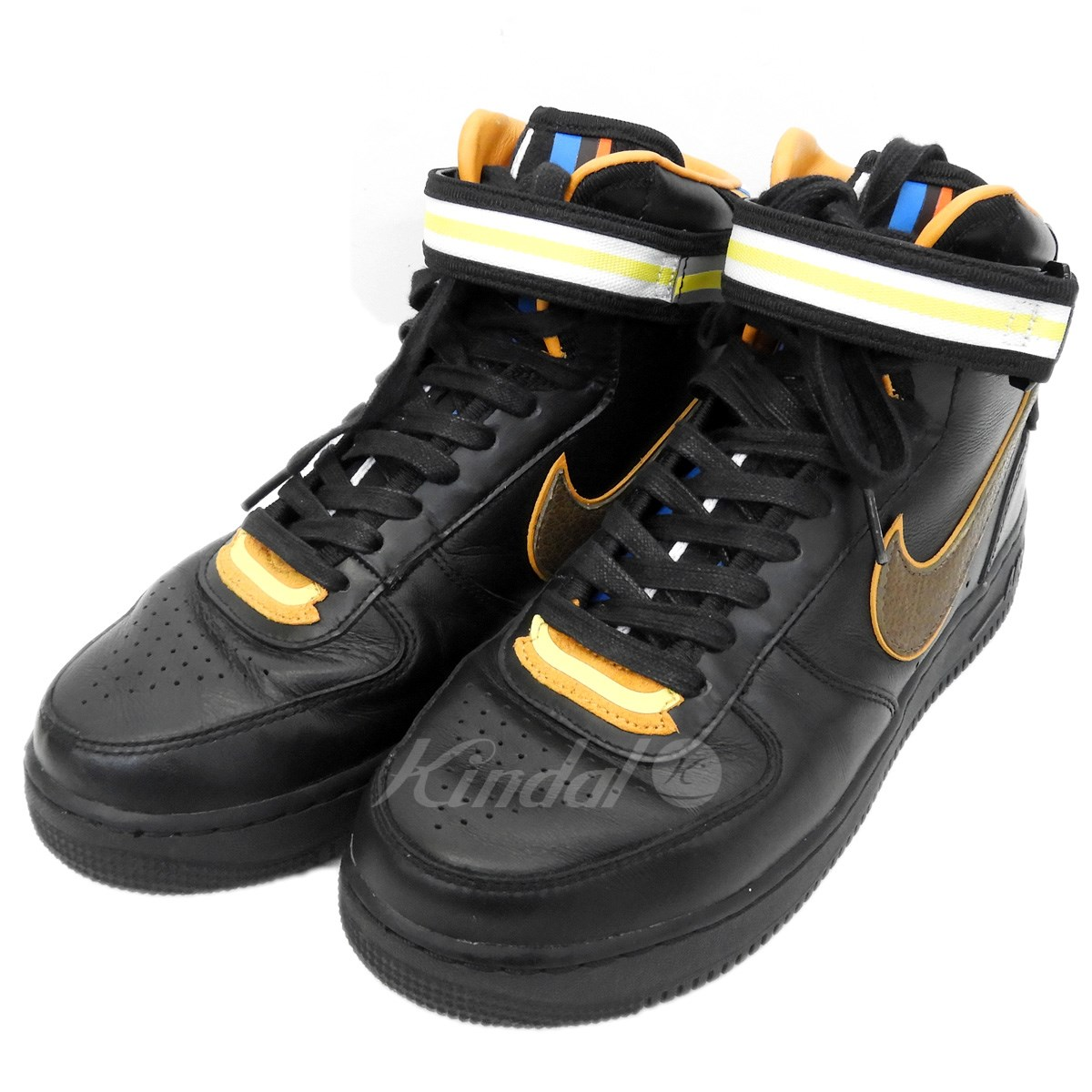 中古 【中古】NIKE×Riccardo Tisci 「AIR FORCE 1 MID SP」 677803-020 ミッドカットスニーカー  【送料無料】 【006698】 【KIND1254】