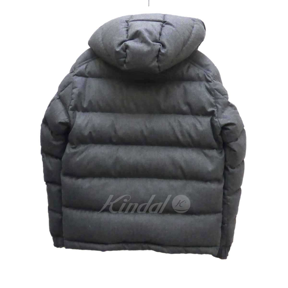 MONCLER MONTGENEVRE down jacket gray size: 2 (Monk rail)
