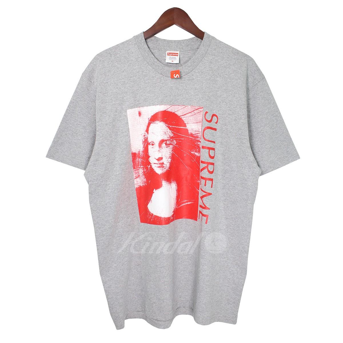 【中古】SUPREME 18SS Mona Lisa Tee モナリザ ロゴTシャツ グレー サイズ:M 【送料無料】 【041018】(シュプリーム)