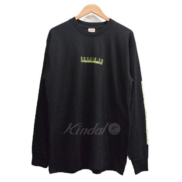 【中古】SUPREME 18AW 1994 L/S Tee ロングスリーブTシャツ ブラック サイズ:M 【送料無料】 【041018】(シュプリーム)