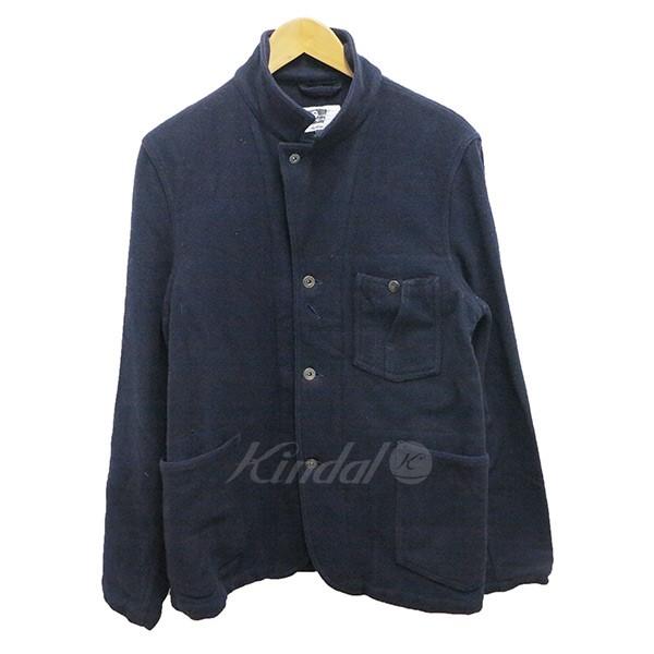 【中古】Engineered Garments ウールワークジャケット ネイビー L ネイビー サイズ:L 【送料無料】 【041018】(エンジニアードガーメンツ)