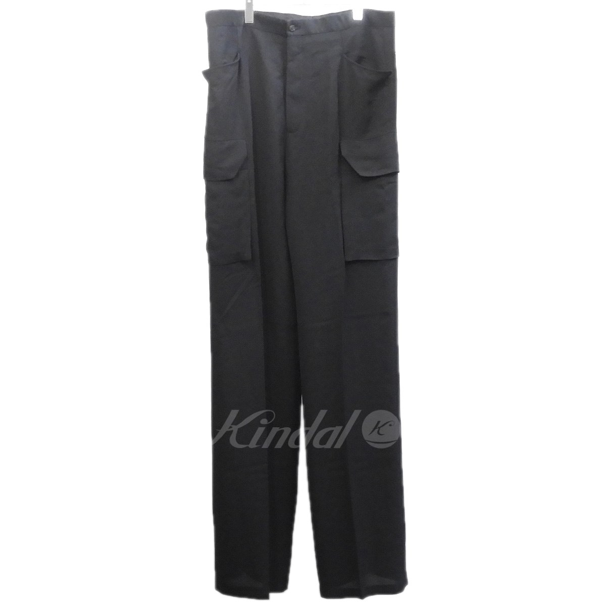 【中古】Rick Owens 2017SS 「Tailored Flat Cargo Trousers」ワイドカーゴパンツ 【送料無料】 【130447】 【KIND1550】